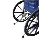 Product Photo: PMI Rear Anti-Tippers for DX Wheelchair