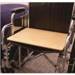 "Product Photo: SafetySure Wooden Wheelchair Board, 16"" x 16"" - Item #: RI5400"