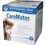 Product Photo: CareMates™ Cone Style N95 Mask, Air Purifying Respirator, Lightweight