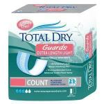 "Product Photo: TotalDry™ Extra Length Incontinence Guard, Light, 250mL Absorbency, 3-1/2"" x 11"""