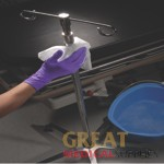 Product Photo: KC500 PURPLE NITRILE EXAM GLOVES, MEDIUM, POWDER-FREE, NON-STERILE, TEXTURED